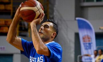 Mundobasket 2019: Προπονήθηκε με την εθνική Ελλάδος ο Σλούκας (pic)