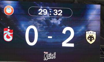 Τραμπζονσπόρ - ΑΕΚ 0-2: Τα highlights της νίκης χωρίς αντίκρισμα
