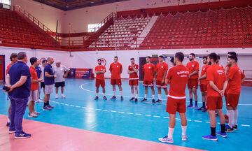 Έτοιμος για τον αγώνα με την Μπόρατς ο Ολυμπιακός
