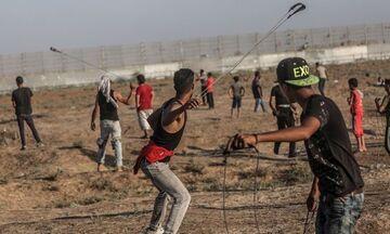 Γάζα: 75 Παλαιστίνιοι τραυματίστηκαν σε επεισόδια με Ισραηλινούς στρατιώτες