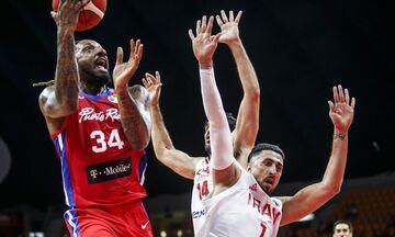 Mundobasket 2019: Ιράν - Πουέρτο Ρίκο 81-83