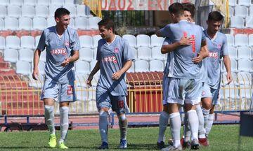 Super League K19: Πέρασε από τη Λάρισα ο Ολυμπιακός με 4-1