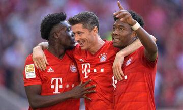 Bundesliga - 3η αγωνιστική: H Μπάγερν διέλυσε 6-1 την Μάιντς (highlights)