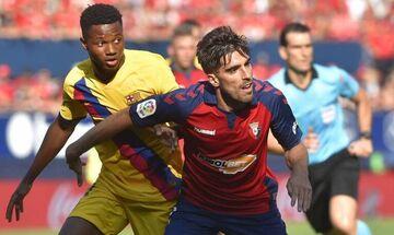 Οσασούνα - Μπαρτσελόνα 2-2: Την πλήγωσε ο Τόρες (highlights)