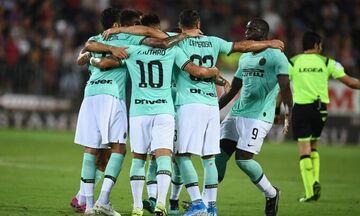 Serie A: Νέα νίκη για Ίντερ, 2-1 την Κάλιαρι (αποτελέσματα)