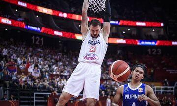 Η Σερβία διέσυρε τις Φιλιππίνες με 126-67