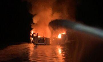 Τραγωδία στην Καλιφόρνια: Δεκάδες νεκροί από πυρκαγιά σε σκάφος (pics)