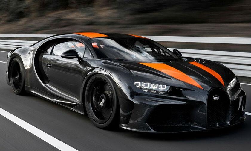 H Bugatti Chiron έσπασε το φράγμα των 490 χλμ./ώρα! (vid)