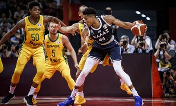 Mundobasket 2019: Bραζιλία - Ελλάδα 79-78:  Χαρακίρι!