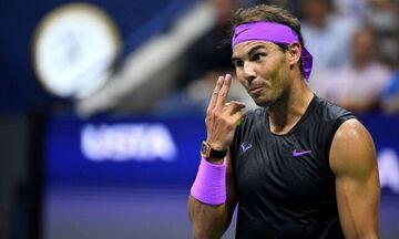 US Open 2019: Ο πόντος του... τουρνουά από τον Ραφαέλ Ναδάλ! (vid)