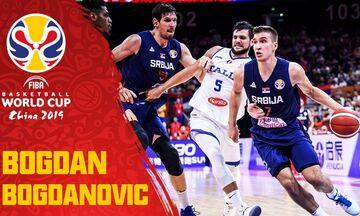 Mundobasket 2019: Το εντυπωσιακό σόου του Μπογκντάνοβιτς που σταμάτησε στους 31 πόντους (vid)