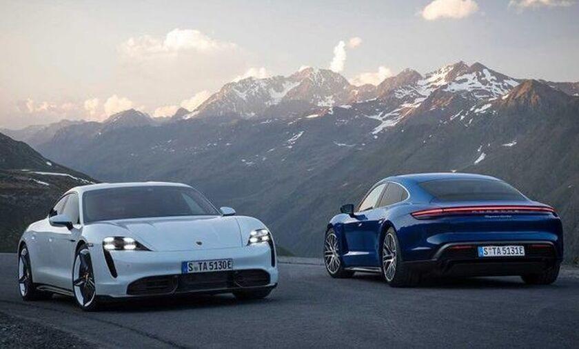 Παρουσιάστηκε κι επίσημα η Porsche Taycan