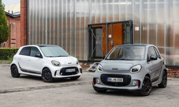 Νέα ηλεκτρικά smart EQ fortwo και forfour με πολλές αλλαγές