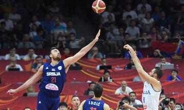 Mundobasket 019: Live Streaming: Σερβία - Πουέρτο Ρίκο (11:30)