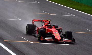 Grand Prix Ιταλίας: Απτόητος παρά τη βροχή ο Λεκλέρκ στο FP1