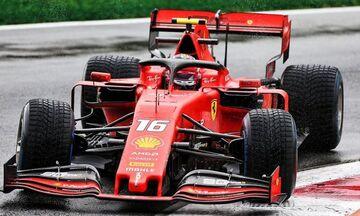 Grand Prix Ιταλίας: Πρώτος και χωρίς βροχή ο Λεκλέρκ στο FP2