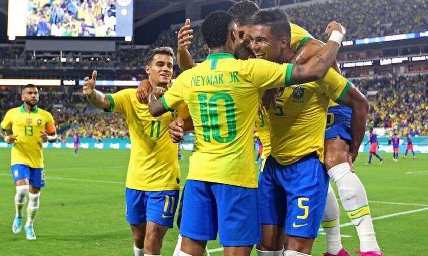 Βραζιλία- Κολομβία 2-2: Ο Νεϊμάρ επέστρεψε με γκολ (vid)