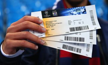 Η UEFA έθεσε όριο στην ανώτατη τιμή εισιτηρίου σε Champions League και Europa League