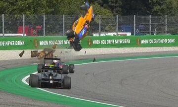 Formula 3: Το σοκαριστικό ατύχημα του Περόνι στη Μόντσα (vid)