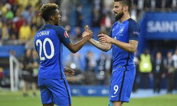 Προκριματικά Euro 2020: Γαλλία - Αλβανία: Γρήγορο προβάδισμα με Ζιρού, Κομάν (vid)