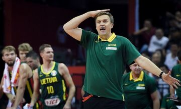 Mundobasket 2019: Αποχωρεί από την Λιθουανία ο Αντομάιτις