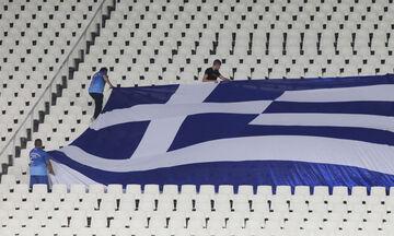 Ελλάδα - Λιχτενστάιν: Άδειο το ΟΑΚΑ (pics)