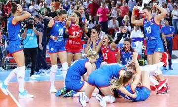 Ευρωπαϊκό Πρωτάθλημα βόλεϊ γυναικών: Η Σερβία έμεινε στο θρόνο της, μπροστά σε 12.000 Τούρκους -pics