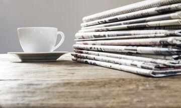 Εφημερίδες: Τα πρωτοσέλιδα σήμερα, 9 Σεπτεμβρίου