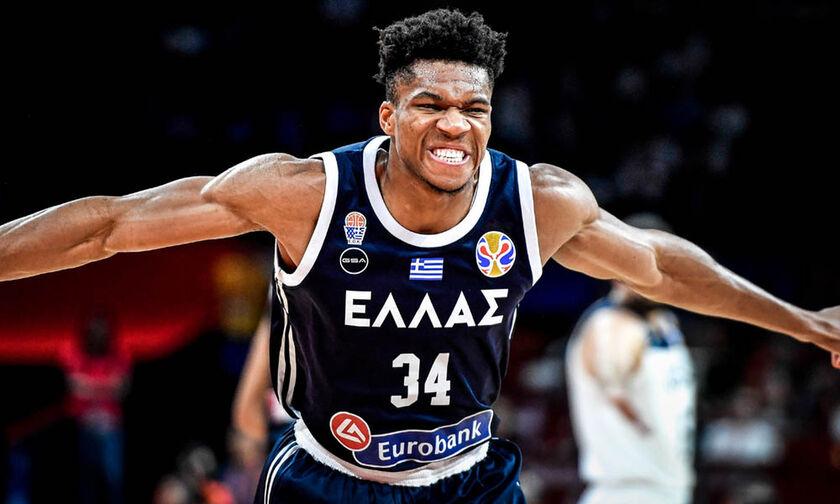 Mundobasket 2019: H «τρέλα» του Θανάση σε καλάθι του Γιάννη Αντετοκούνμπο (vid)