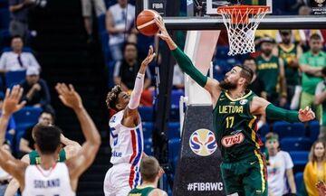 Mundobasket 2019: Δομινικανή Δημοκρατία - Λιθουανία 55-74: Φινάλε με... γιούχα