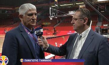 Γιαννάκης: «Οι διαιτητές δεν ήταν επίπεδου Mundobasket» (vid)