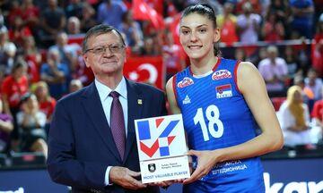 Ευρωπαϊκό Πρωτάθλημα Βόλεϊ: Πολυτιμότερη η Μπόσκοβιτς (pic, vid)