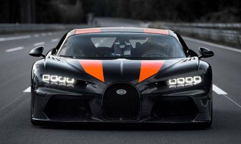 Στην παραγωγή η Bugatti Chiron που ξεπέρασε τα 490 χλμ./ώρα! (vid)