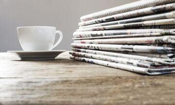 Εφημερίδες: Τα πρωτοσέλιδα σήμερα, 10 Σεπτεμβρίου