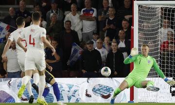 Αγγλία-Κόσοβο: Γκολ ο Μπερίσα στο 34ο δευτερόλεπτο για το 0-1 (vid)