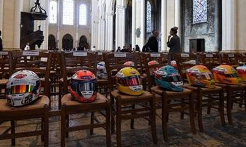 Κηδεία Ιμπέρ: Ρίγος για τον αδικοχαμένο πιλότο της Formula 2 (vid)
