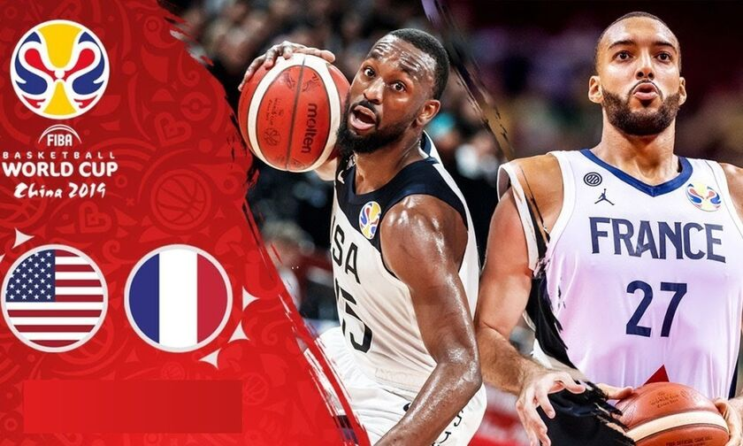 Mundobasket 2019: Live Streaming: ΗΠΑ – Γαλλία (14:00)