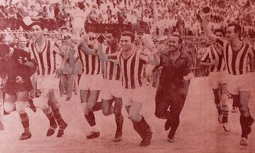 11/9/1960: Ολυμπιακός - Παναθηναϊκός 3-0, με Φόντακα... τον Πολυχρονίου!