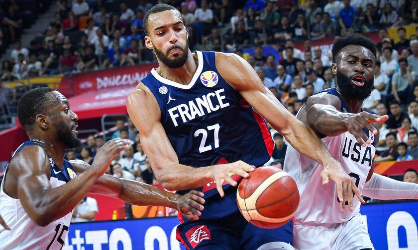 Mundobasket 2019: ΗΠΑ - Γαλλία 79-89 : Έξω οι Αμερικανοί από τα μετάλλια!