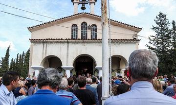 Παρουσία Μητσοτάκη η κηδεία του Λαυρέντη Μαχαιρίτσα: «Καλό ταξίδι ταξιδευτή μας» (pics+vid)