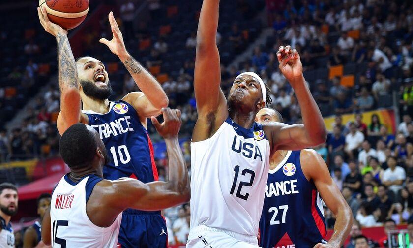 Τα highlights από το ΗΠΑ - Γαλλία 79-89 (vid)