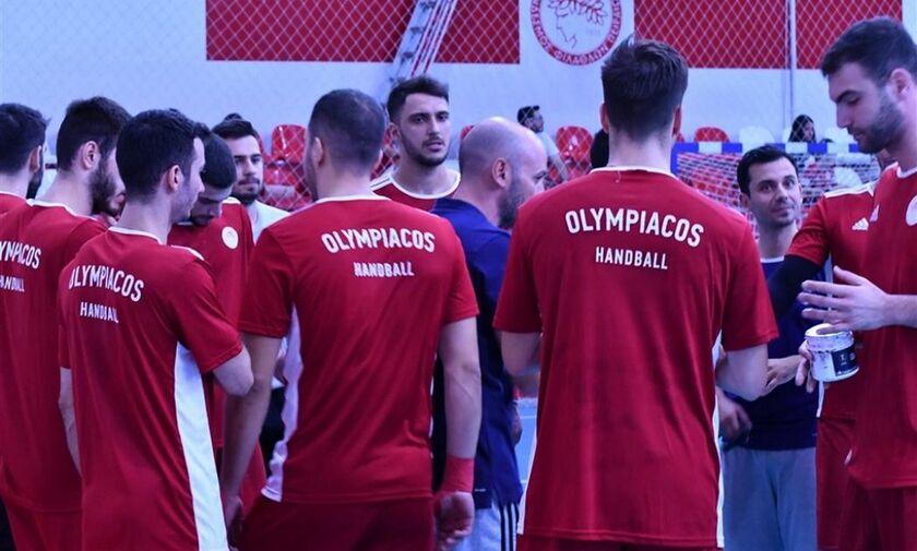 Oλυμπιακός: Νίκησε σε φιλικό 29-21 τον Ιωνικό Νέα Φιλαδέλφειας