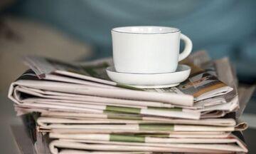 Εφημερίδες: Τα πρωτοσέλιδα σήμερα, 13 Σεπτεμβρίου