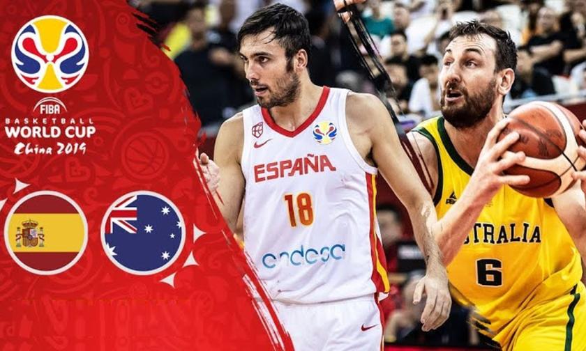 Mundobasket 2019: Live Streaming: Ισπανία – Αυστραλία 80-80 (2η παράταση)