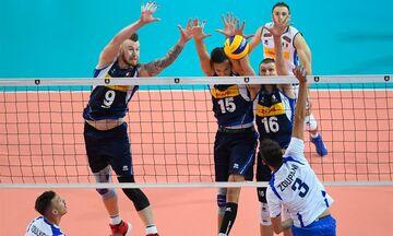 Ευρωπαϊκό Πρωτάθλημα Βόλεϊ: Δεύτερη ήττα για την Ελλάδα, με «θύτη» την Ιταλία