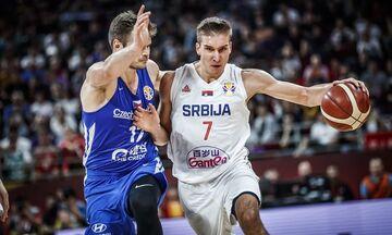 Σερβία - Τσεχία 90-81: Στην 5η θέση η παρέα του Μπογκντάνοβιτς