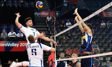 Live Streaming: Ελλάδα - Γαλλία 0-3 σετ (τελικό)