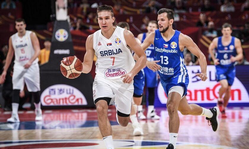 Mundobasket 2019 - Το σόου του Μπογκντάνοβιτς με τα 7 τρίποντα και τους 31 πόντους (vid)