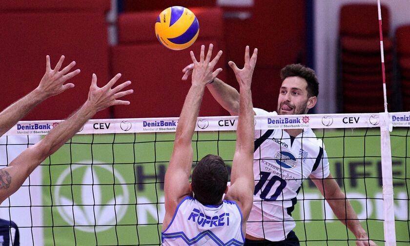 Ευρωπαϊκό Πρωτάθλημα: Ήττα 3-0 σετ της Ελλάδας από τη Γαλλία