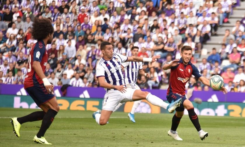 La Liga: Ο Ιμπάνιεθ γλίτωσε την Οσασούνα, 1-1 με την Βαγιαδολίδ (upd - highlights)